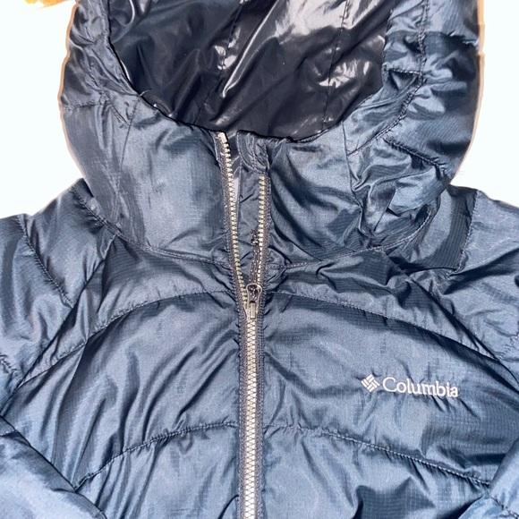Black Columbia Long Jacket